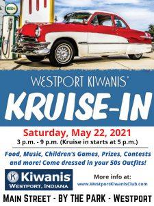 Westport Kiwanis Kruise In Poster